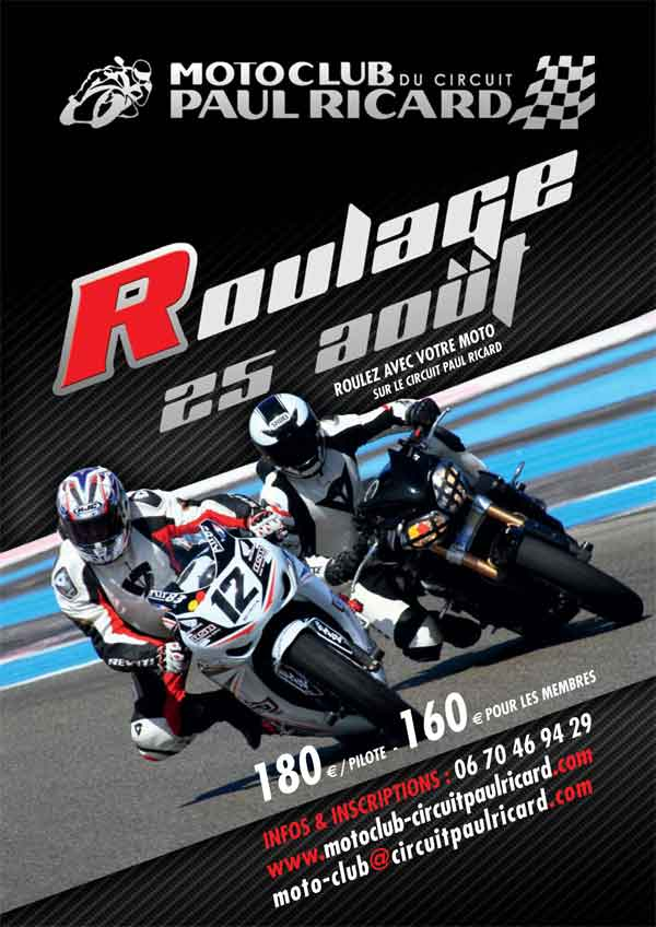 entrainement moto le 25 aout 2013 moto club circuit paul ricard. Black Bedroom Furniture Sets. Home Design Ideas