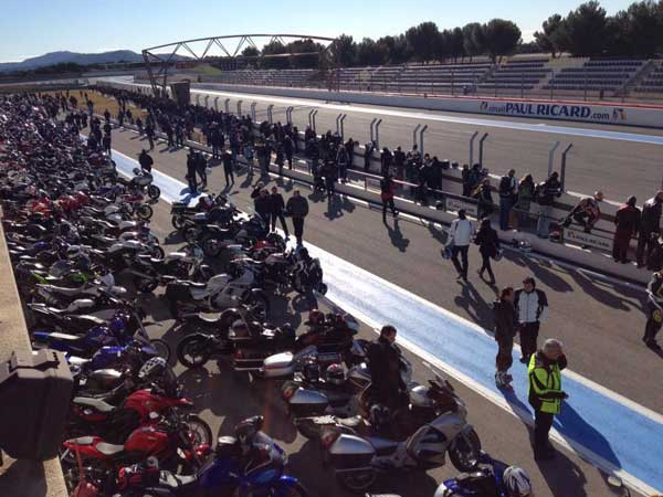 Evenement moto 2013 au Circuit Paul Ricard